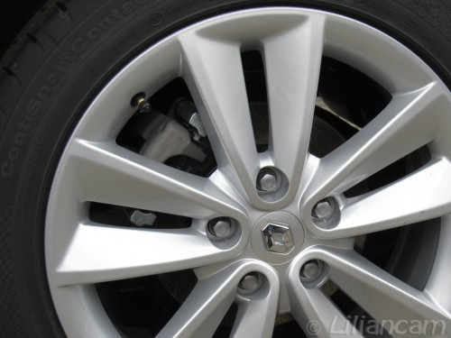 Licht metalen velg Sari, Renault Megane III, Celsium